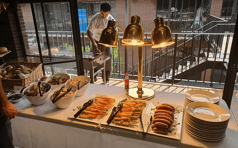 gourmet corporate catering buffets