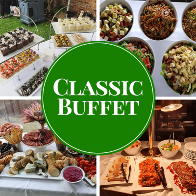 classic buffet catering package