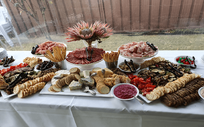 grazing table catering