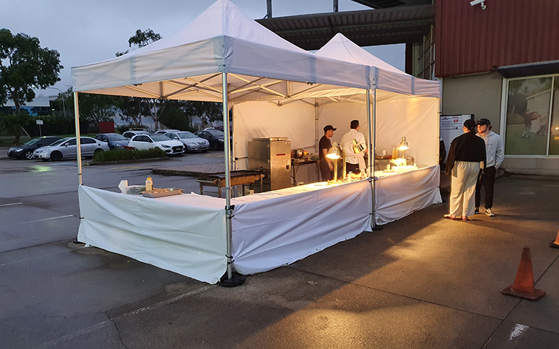 pop up live station catering