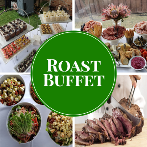 roast buffet catering package