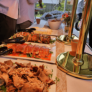 buffet party catering service