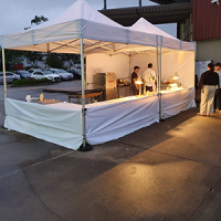 pop up live stations catering service grazn gourmet