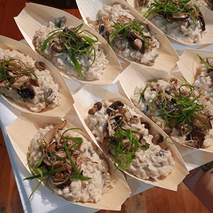 risotto finger food canape catering service