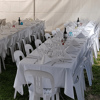bistro table chair package hire event wedding brithday celebration