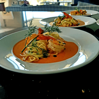 wedding plated entree catering meal